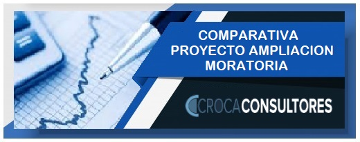 """Comparativa moratoria ley 27.541 con proyecto de ley (PEN) de """"ampliación"""" moratoria del 07/07/2020"""