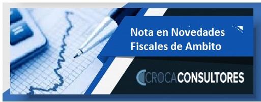 trabajo del Dr. Carlos Roca sobre la ley 27.613 de incentivo y Blanqueo para la construccion publicado en suplemento Novedades fiscales de ambito